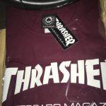 【スラッシャー】定番のThrasher MagazineのTシャツ買った【サイズ感】
