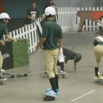 スケートボードで「ポロ」をやってみたら